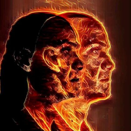 wired burning head